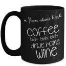 Funny Gifts for Co-Workers - Funny Coffee Mugs for Office - 11oz, Black