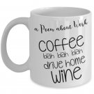 Funny Gifts for Co-Workers - Funny Coffee Mugs for Office - 11oz, White