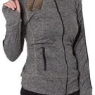 NEW GG Blue Women's Faith Jacket - Color Charcoal Black - Size XL