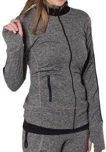NEW GG Blue Women's Faith Jacket - Color Charcoal Black - Size XL