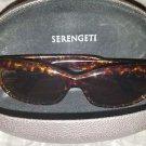 Serengeti RX Eyewear Bianca Sunglasses (Gltter Tortoise, Polar Drivers)