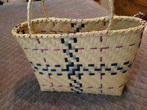 New Women Casual Straw Cute hand Bag Girl's Summer  Beach Tote  Handbag