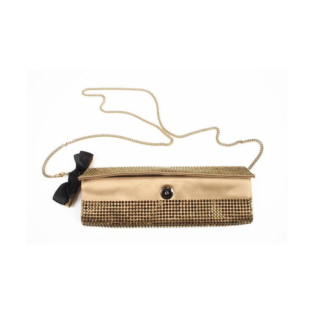 Rodo ladies handbag B7815 821 145 - Clutch One Size Bronze Purse Gold Cha