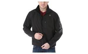 Wrangler Men's Trail Jacket, Black, Large