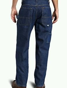 Key Apparel Men's Fire Resistant Denim Dungaree, Denim, 42x34
