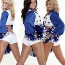 Women's Deluxe Dallas Cowboy Cheerleader Shakers,Blue,One Size