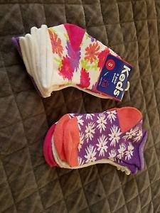 Keds Kids 6-Pair Quarter Socks Medium 7-10