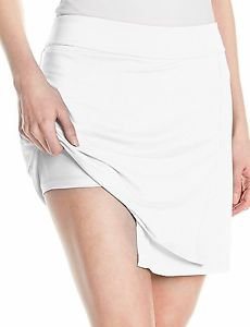 Puma Womens Solid Knit Golf Skirt - White - Small - New