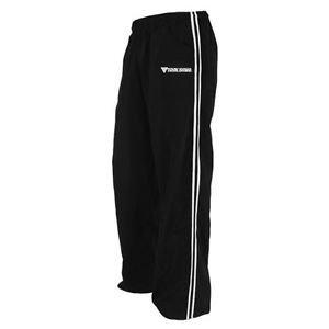 Krav Maga Nylon Pants (Black/White, Large) New