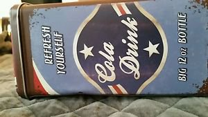 NOSTALGIC ART LARGE TIN PEPSI