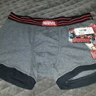 Avengers Hulk Buster Boxer Briefs Marvel Superhero Men Underwear Gray NWT