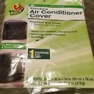 Duck Brand 1431012 Rectangular Standard Central Air Conditioner Cover, 30-Inch .
