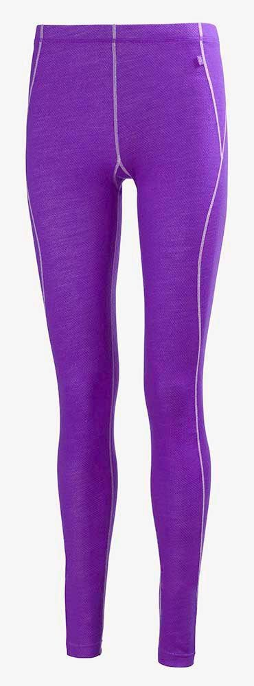 Helly Hansen Women's HH Warm Base Layer Pants, Sunburned Purple, Large