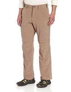 Arborwear Men's Towpath Convertible Pant, Driftwood 36x34