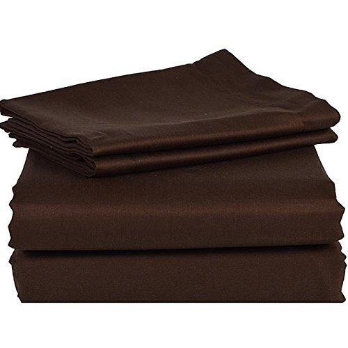 1000 TC EGYPTIAN COTTON  SOLID QUEEN SIZE BED SHEET SET