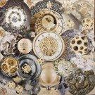 Collage « Sextuor aux sphères »