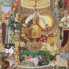 Collage « Moghol emerald »