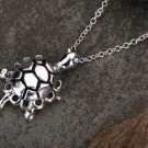 925 Sterling Silver Fashion Jewelry Pendant Turtle with Necklace 18,20,22in.