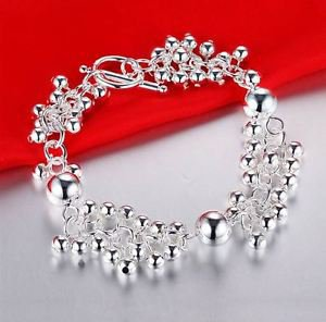 NEW! 925 Sterling Silver Fashion Jewelry Bracelet Balls.