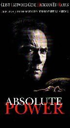 Absolute Power [VHS]