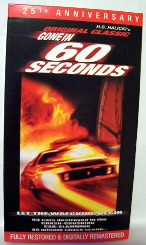 Gone in 60 Seconds [VHS]