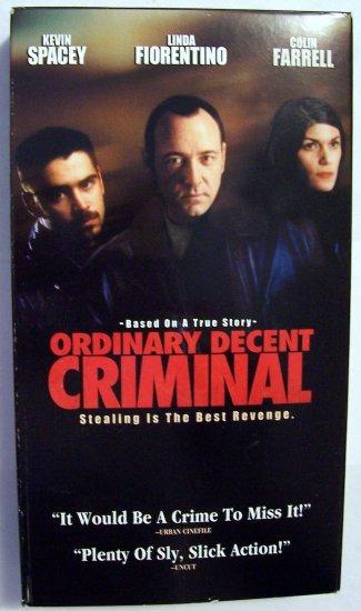 Ordinary Decent Criminal [VHS]