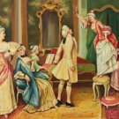 """palace Hand painted oil painting on canvas""""Royal member""""60x90CM(23.6""""x35.4"""")Unframed-01"""