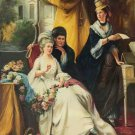 """palace Hand painted oil painting on canvas""""Royal member""""60x90CM(23.6""""x35.4"""")Unframed-03"""