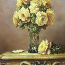 """Simple modern Hand painted oil painting on canvas""""Flowers""""60x90CM(23.6""""x35.4"""")Unframed-01"""