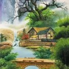 "Chinese style Hand painted oil painting on canvas""Natural color""60x120CM(23.6""x47.2"")Unframed-12"