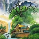 """Chinese style Hand painted oil painting on canvas""""Natural color""""60x120CM(23.6""""x47.2"""")Unframed-15"""