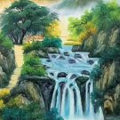"Chinese style Hand painted oil painting on canvas""Natural color""60x120CM(23.6""x47.2"")Unframed-16"