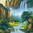 "Chinese style Hand painted oil painting on canvas""Natural color""60x120CM(23.6""x47.2"")Unframed-17"