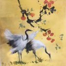 """Chinese style Hand painted oil painting on canvas""""Red-crowned crane""""50x60CM(19.7""""x23.6"""")Unframed-02"""