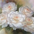 "American style Hand painted oil painting on canvas""Lover roses""60x90CM(23.6""x35.4"")Unframed-03"