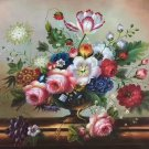 """Simple modern Hand painted oil painting on canvas""""Flowers""""60x90CM(23.6""""x35.4"""")Unframed-05"""