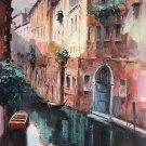 "European style Hand painted oil painting on canvas""Venice""60x90CM(23.6""x35.4"")Unframed-07"