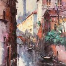 "European style Hand painted oil painting on canvas""Venice""60x90CM(23.6""x35.4"")Unframed-08"