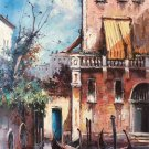 "European style Hand painted oil painting on canvas""Venice""60x90CM(23.6""x35.4"")Unframed-10"
