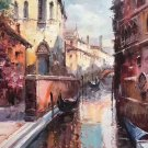 "European style Hand painted oil painting on canvas""Venice""60x90CM(23.6""x35.4"")Unframed-12"