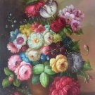"""Simple modern Hand painted oil painting on canvas""""Flowers""""60x90CM(23.6""""x35.4"""")Unframed-11"""