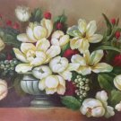 "Simple modern Hand painted oil painting on canvas""Flowers""60x90CM(23.6""x35.4"")Unframed-14"