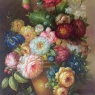 """Simple modern Hand painted oil painting on canvas""""Flowers""""60x90CM(23.6""""x35.4"""")Unframed-16"""