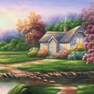 """European style Hand-painted oil painting on canvas""""mind home""""70x180CM(27.6""""x70.9"""")Unframed-04"""