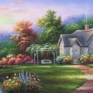 "European style Hand-painted oil painting on canvas""mind home""70x180CM(27.6""x70.9"")Unframed-06"