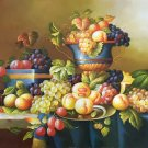 "Simple modern Hand painted oil painting on canvas""harvest fruits""60x90CM(23.6""x35.4"")Unframed-31"