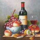 "handpainted oil painting on canvas Art Decor""Grape wine""50x60CM(19.7""x23.6"")Unframed-37"