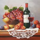 "handpainted oil painting on canvas Art Decor""Grape wine""50x60CM(19.7""x23.6"")Unframed-41"