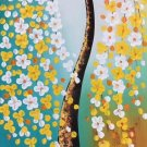 """Simple modern Hand painted oil painting on canvas""""mind tree""""60x120CM(23.6""""x47.2"""")Unframed-02"""