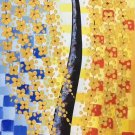 """Simple modern Hand painted oil painting on canvas""""mind tree""""60x120CM(23.6""""x47.2"""")Unframed-03"""